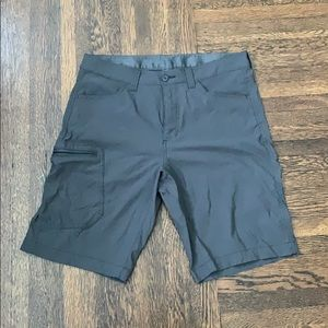 Eddie Bauer Grey Water Resistant Men's Shorts